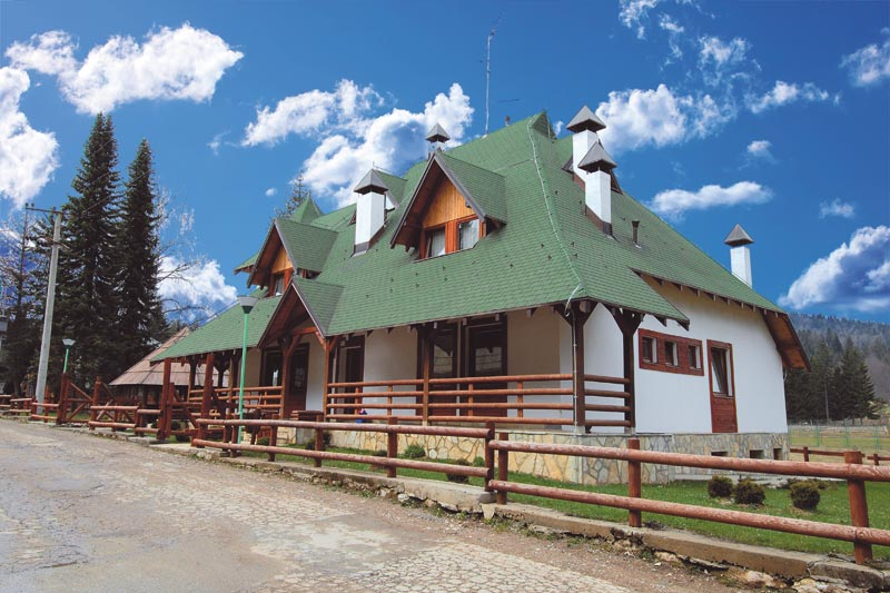 """""""Šumarska kuća"""" Nacionalnog parka Tara"""