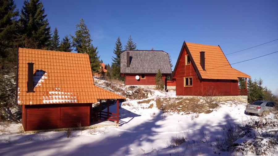 Planinske kuće Drveni kutak