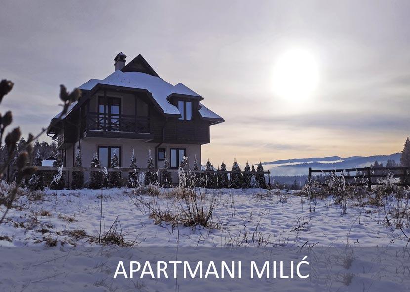 (Srpski jezik) Apartmani MILIĆ